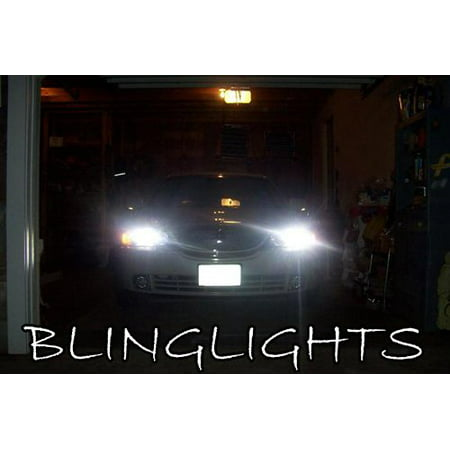 2003 2004 2005 2006 Lincoln Ls White Replacement Bulbs For Headlamps Headlights Head Lamps Lights