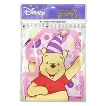 Winnie the Pooh's First Birthday Girl (Pooh First Birthday Girl)