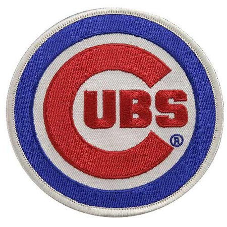 Chicago Cubs Primary Logo Patch - No Size