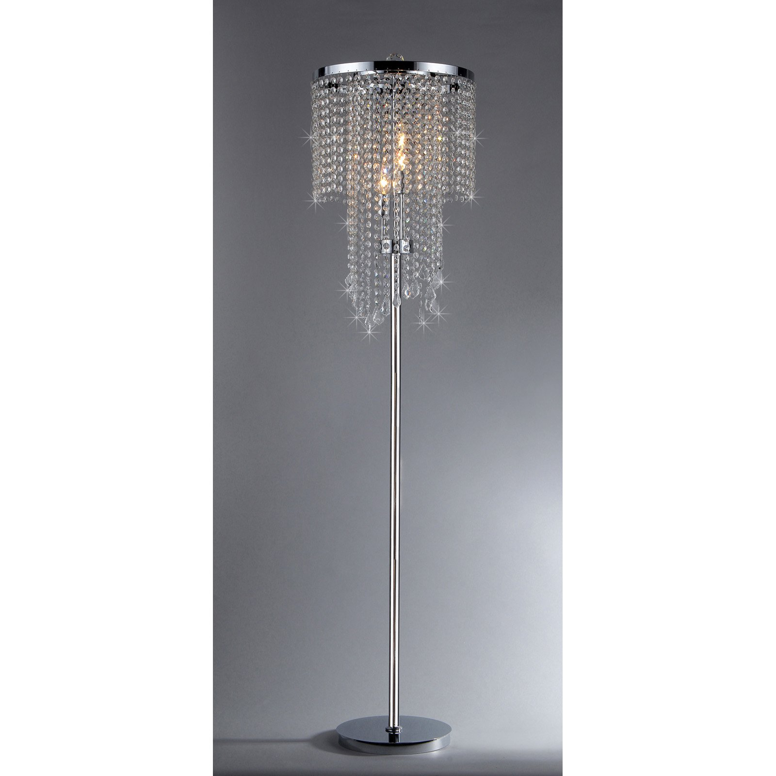 Warehouse of Tiffany FL9262 Crystal Floor Lamp Walmart