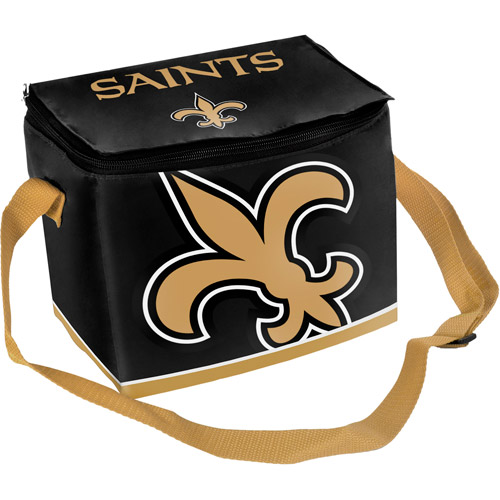 Nfl Zipper Lunch Bag - New Orleans Saint