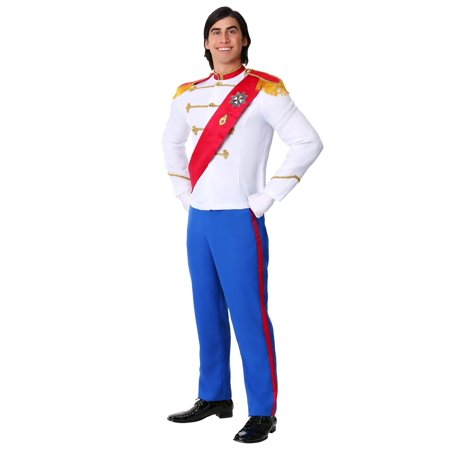 Snow White And Prince Halloween Costumes (Men's Charming Prince Costume)