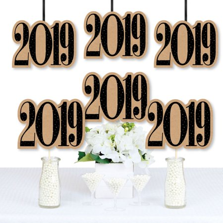 Bright Future - 2019 Graduation Decorations DIY Party Essentials - Set of 20 - Simple Graduation Decorations