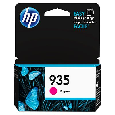HP 935 Magenta Original Ink Cartridge (Hp Printer Cartridge 935)