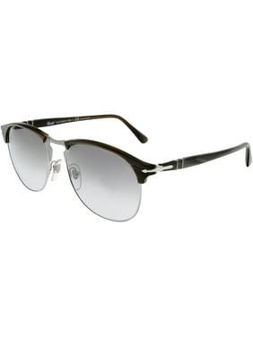 4120339f95 Product Image Persol Men s Polarized PO8649S-1045M3-56 Brown Oval Sunglasses