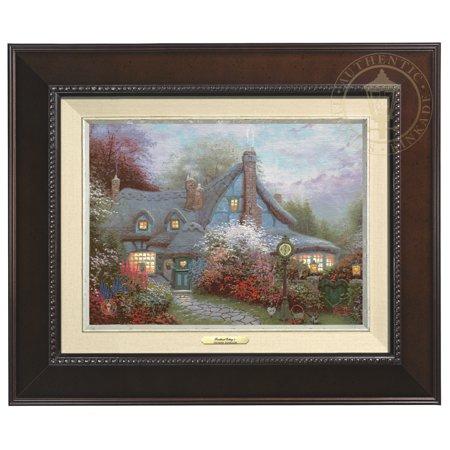 Thomas Kinkade Sweetheart Cottage - Canvas Classic (Espresso - Thomas Kinkade Sweetheart Cottage