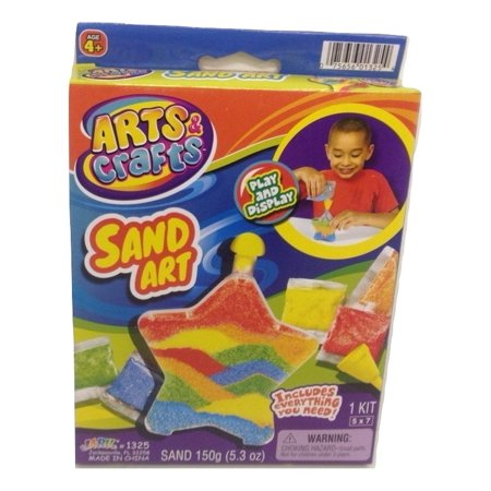 Jaru Arts & Craft Sand Art Star Shaped Play & Display