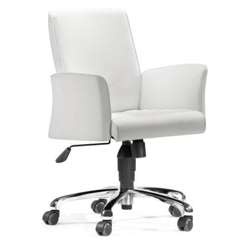 Zuo Modern Metro Office Chair - White