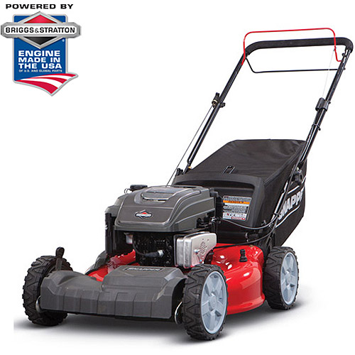 "Snapper 21"" Gas Front Wheel Drive Self Propelled Mower with Side Discharge, Mulching, Rear Bag"