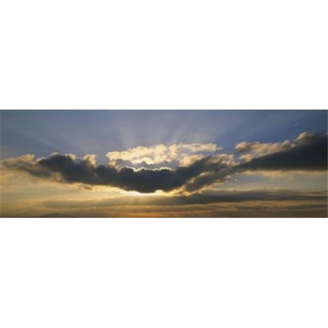 Low Angle View Of Clouds In The Sky  Switzerland Poster Print by  - 36 x 12 - image 1 de 1