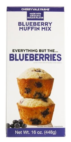 Cherryvale Farms, Blueberry Muffin Baking Mix, Everything But The Blueberries, Add Fresh... by Cherryvale Farms