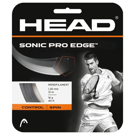 Head Sonic Pro Edge Tennis String Monofilament Grey 16g 40ft