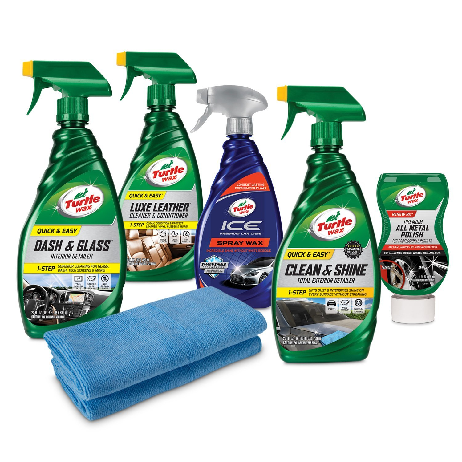 Turtle Wax Ultimate Motorcycle Cleaning Kit