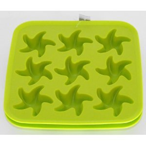 Halloween Ice Cubes Ideas (Ikea Plastis Synthetic Rubber Ice Cube Tray Swirled Stars Shape, Ikea By)