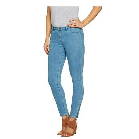 LOGO by Lori Goldstein Womens 5-Pocket Skinny Jeans 280966RM Logo Pocket Jean