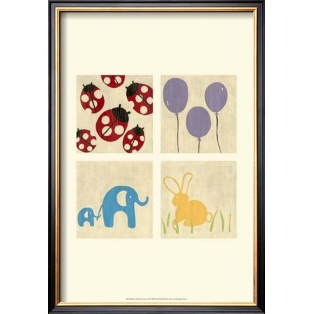 Forever Framed Panel Print (Best Friends Forever II Framed Art Print Wall Art  By Chariklia Zarris - 14x20)
