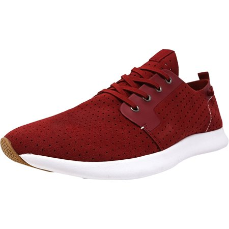 5932ad3ce26 Steve Madden Men's P-Chyll Red Ankle-High Suede Fashion Sneaker - 10M