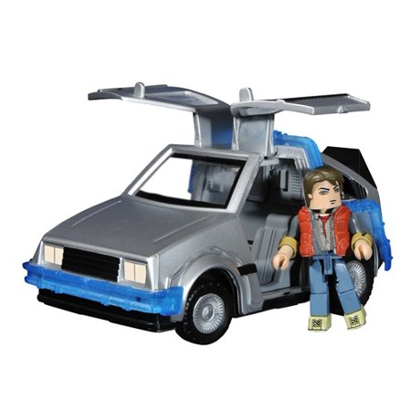 - Back to the Future 2 Minimates Vehicle Time Machine with Marty McFly