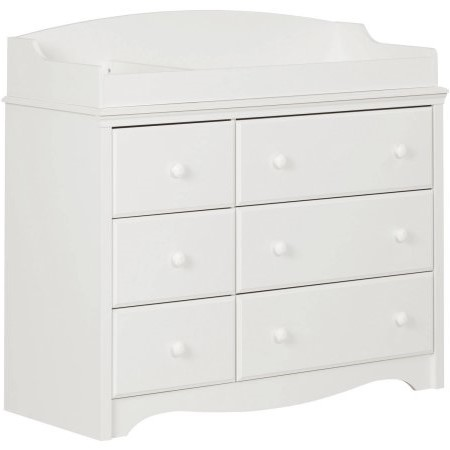 South Shore Angel Changing Table/Dresser With 6 Drawers, Multiple Finishes