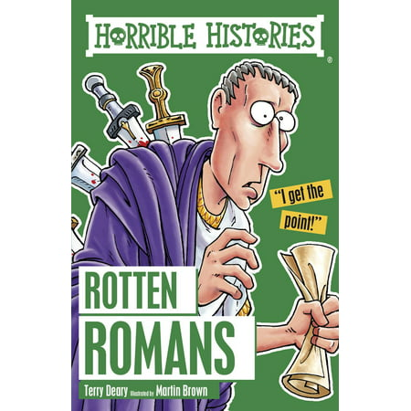 Horrible Histories: Rotten Romans - eBook - Horrible Histories Halloween Special