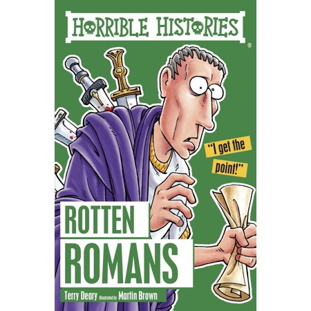 Horrible Histories: Rotten Romans - eBook](Horrible History Halloween)