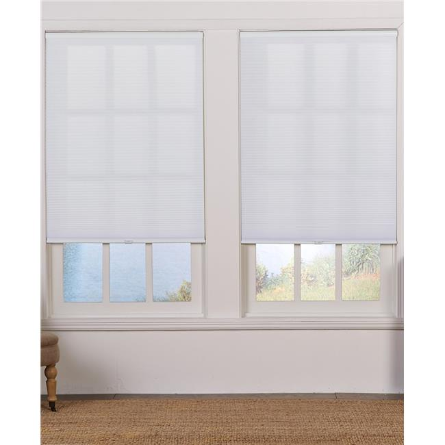 Safe Styles UBC275X72WT Cordless Light Filtering Cellular Shade, White - 27.5 x 72 in. - image 1 of 1