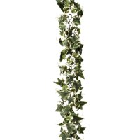 Darice Ivy Chain Garland: Variegated, Green/Cream, 6 ft