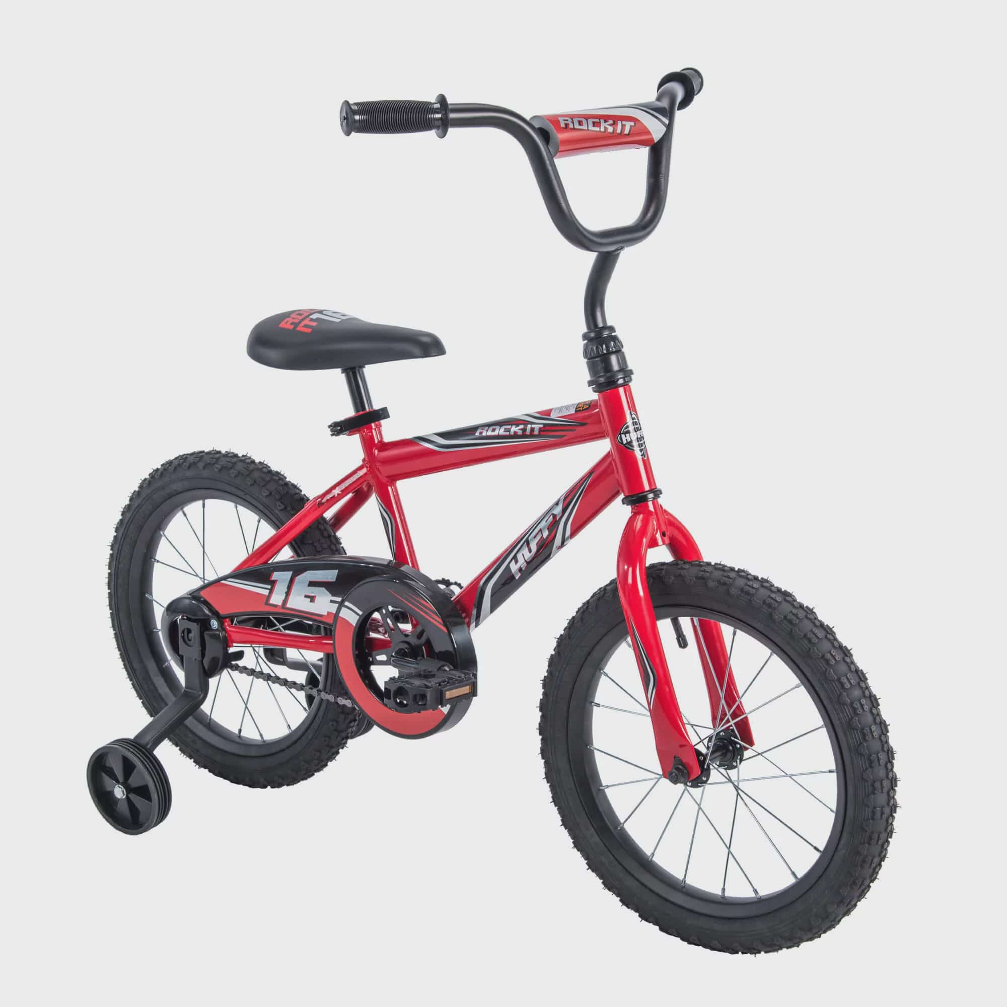 "Huffy 16"" Rock It Boys Bike, Red"