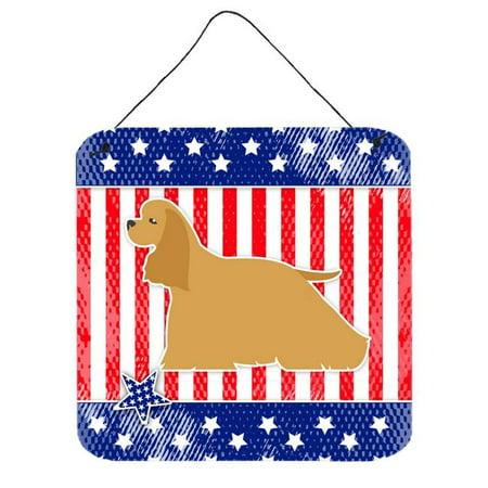 USA Patriotic Cocker Spaniel Wall or Door Hanging Prints - image 1 de 1