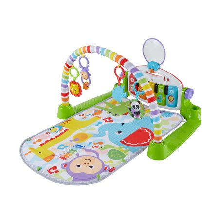 Ez Play Piano - Fisher-Price Deluxe Kick & Play Piano Gym, Green
