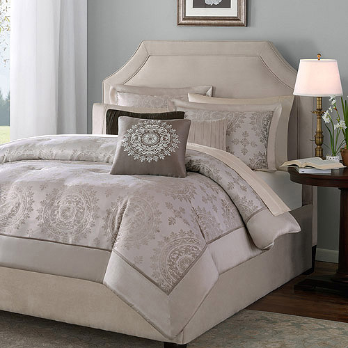 Home Essence Madeline 6-Piece Duvet Cover Set, Tan