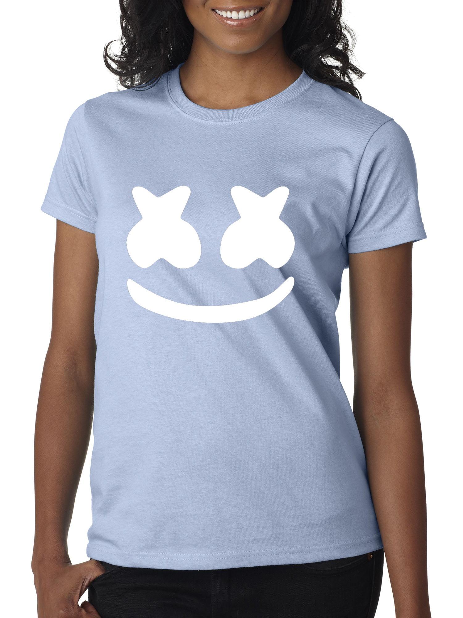 New Way 984 Youth T-Shirt Marshmello DJ Smiley Face