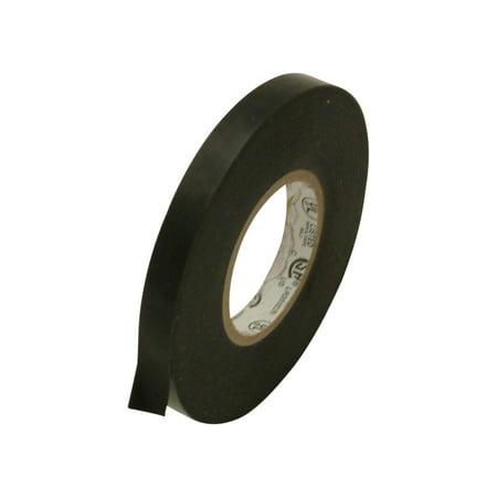 Duty Grade Reinforced Tape (JVCC EL7566-AW Premium Grade Electrical Tape: 3/8 in. x 66 ft. (Black) )