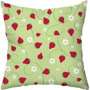 Checkerboard, Ltd Berry Dots Outdoor Throw Pillow