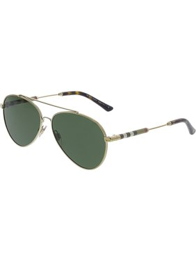 d6e88517e955 Product Image Burberry Women s Mirrored BE3092Q-114571-57 Gold Aviator  Sunglasses