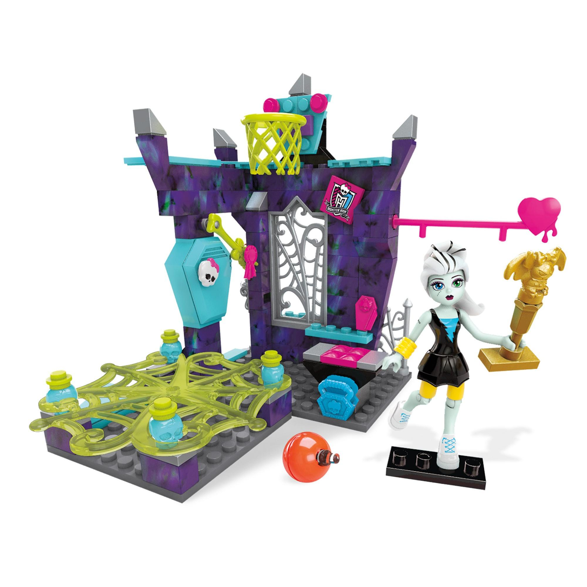 Mega Bloks Monster High Physical Deaducation Playset