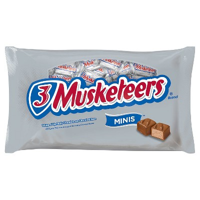 3 MUSKETEERS Chocolate Minis Size Candy Bars 10-Ounce Bag...