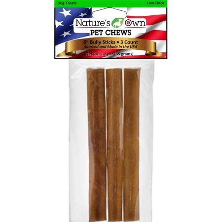 Best Buy Bones-Nature's Own Usa Low Odor Bully Sticks Dog Chew- Beef