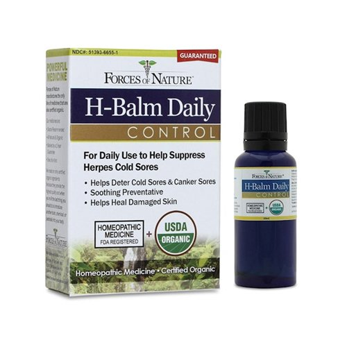 Forces Of Nature H-Balm Daily Control 33 ML (Pack of 1)
