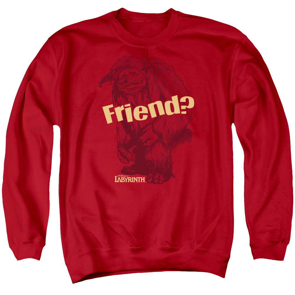Labyrinth Ludo Friend Mens Crewneck Sweatshirt