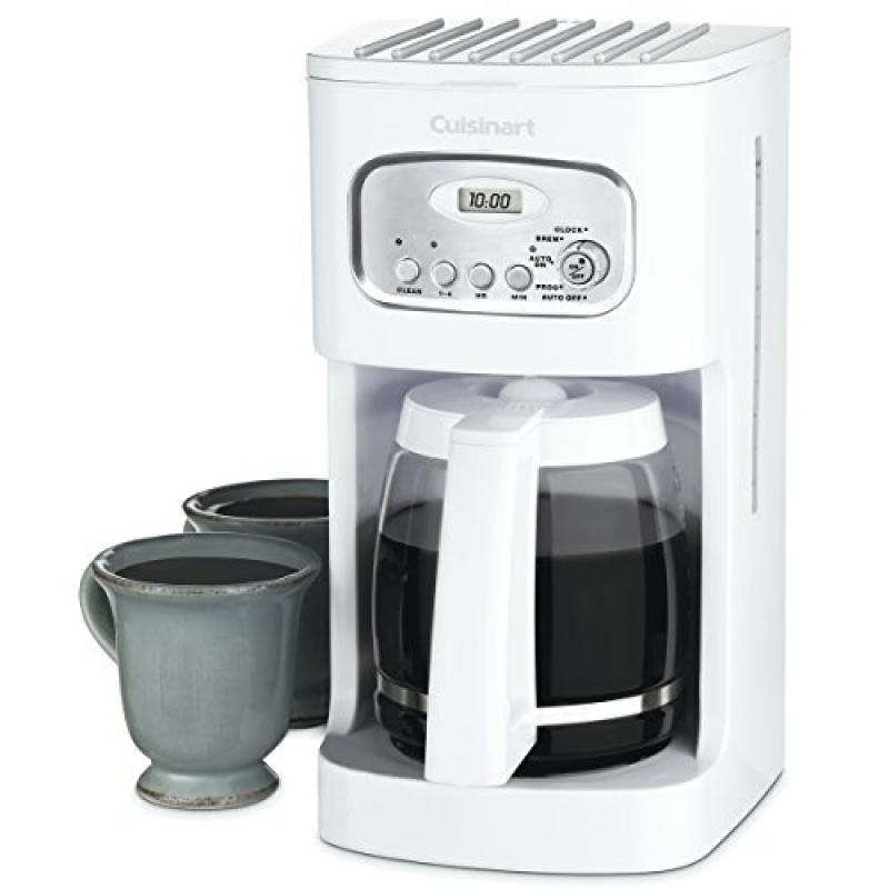 cuisinart 12 cup coffee maker cuisinart coffee maker 12 cup white walmart 29420
