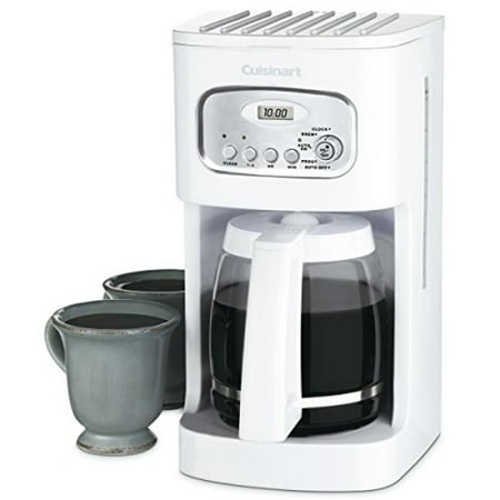 Cuisinart Coffee Maker In White : Cuisinart Coffee Maker - 12 cup - White - Walmart.com