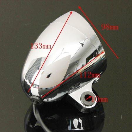 4″ Motorcycle Bike Bullet Headlight Spot Fog Lamp For  Honda Suzuki Yamaha - image 4 de 6
