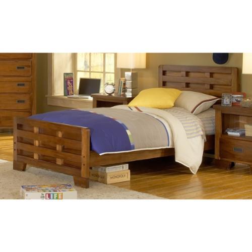 Greyson Living  'Hardy' Full Size Interlocking Wood Bed with Optional Trundle Storage
