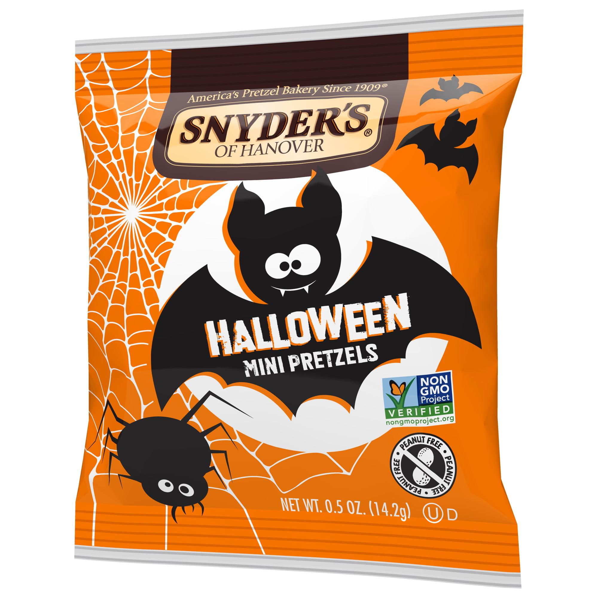 Snyder s of Hanover Mini Pretzels Halloween Trick or Treat Snack
