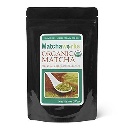 Matcha Tea Powder (Matchaworks Matcha Green Tea Powder Ceremonial Grade Raw Organic, 4)