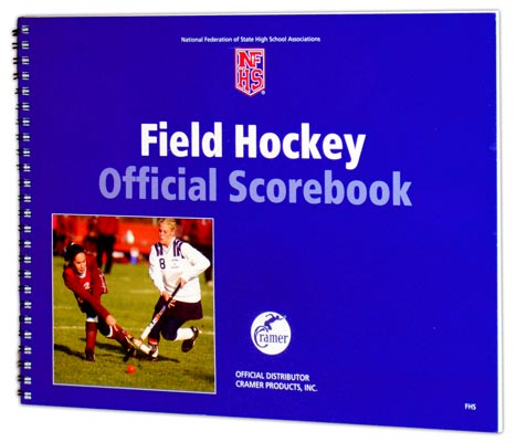 Cramer Official NFHS Field-Hockey Scorebook by Carmer Sports Medicine