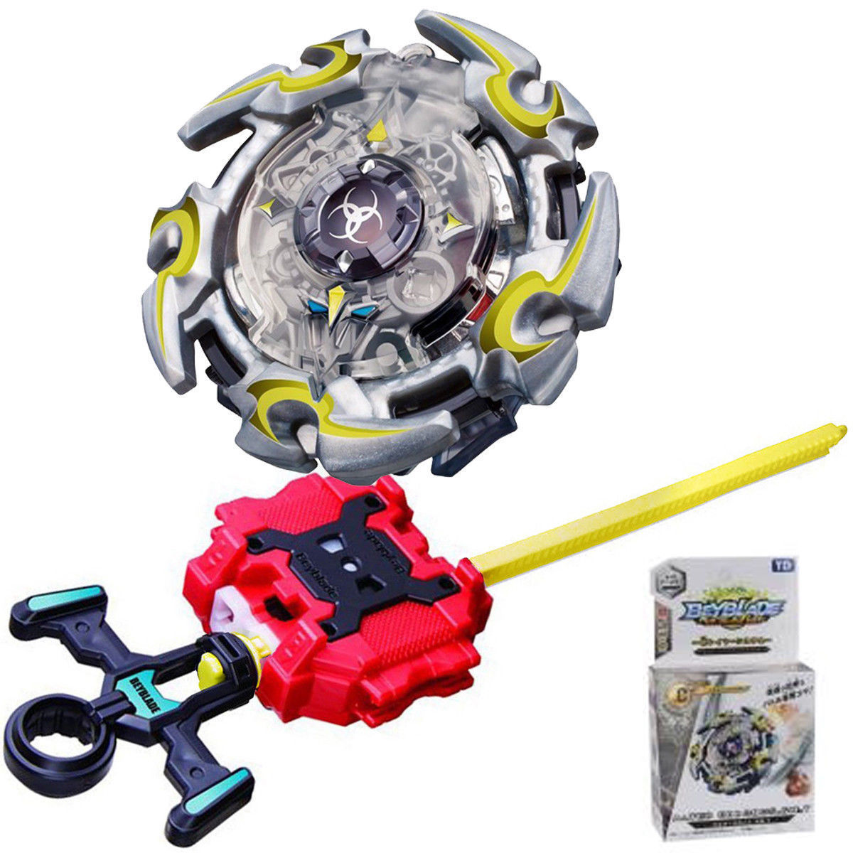 New Beyblade Burst B-82 BOOSTER ALTER CRONOS. 6 M.T with Launcher Toys For Kids