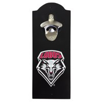 New Mexico Lobos Wall Mounted Bottle Opener