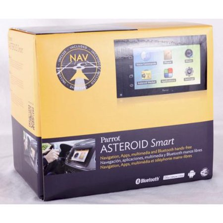 """Parrot Asteroid Smart In-Dash 6.2"""" AM FM USB Car Stereo Receiver w  GPS Nav by"""
